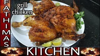 Grill chicken in microwave oven / whole grill chicken in Tamil