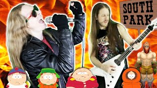 Live To Win   South Park   METAL COVER   ft Chad Anderson   Andrew Soto