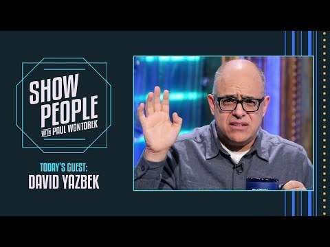 Show People with Paul Wontorek: David Yazbek of THE BAND'S VISIT