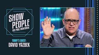 Show People with Paul Wontorek: David Yazbek of THE BAND'S VISIT