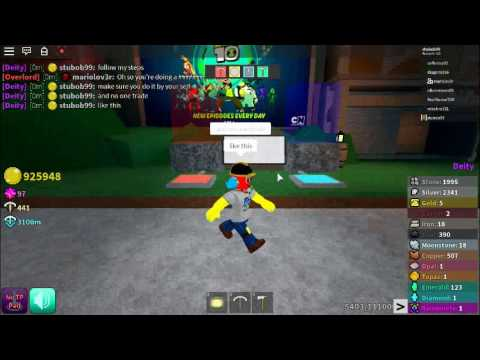 How To Brake The Trade System In Azure Mines | ROBLOX