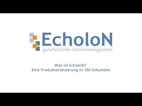 EcholoN in 3 Minuten