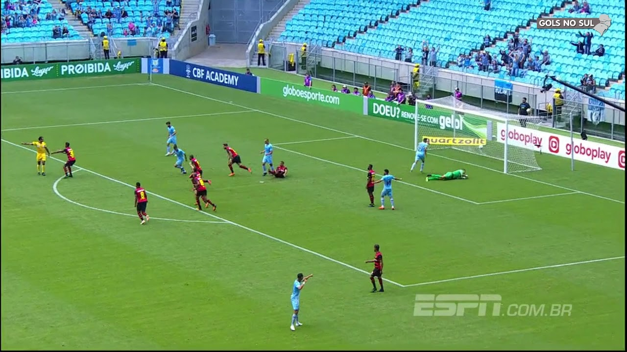 Grêmio 3 x 4 Sport - Rádio Gaúcha - 27/10/2018