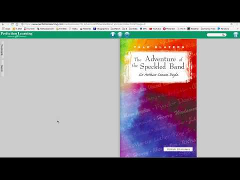 MLA 8 Video   Citing the Tale Blazers Short Story Books