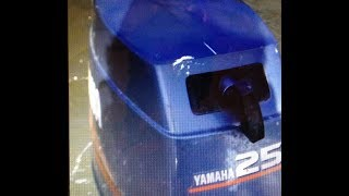 FAST DUCK BOAT 40MPH, 25 HP YAMAHA 3 CYLINDER OUTBOARD BAYOU METO BOAT RACE