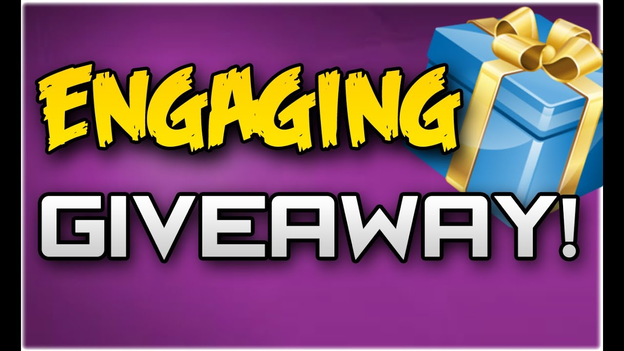 giveaway gleam how to do an engaging youtube giveaway with gleam youtube 5053