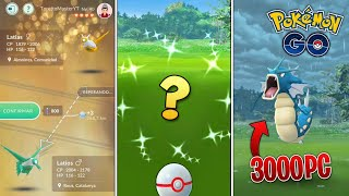 CAPTURO SHINY de INCURSIÓN¿LATIOS o LATIAS? INTERCAMBIO con SUERTE & HUEVOS con SORPRESA- Pokémon Go