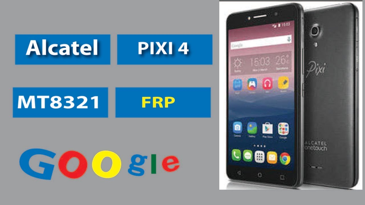 How to BYPASS frp Alcatel 9003x [PIXI 4-7 3G] mt8321 by mobile solutions