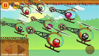 Red Ball Airforce | red ball, red ball's girlfriend, black Ball | Red Ball 3 | Red Ball 4
