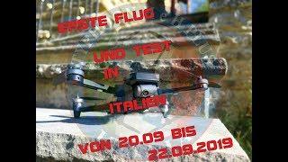 MANTIS G - Erste Flug und test in ITALIEN (DEUTSCHE/GERMAN)