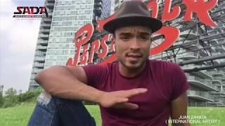 INTERNATIONAL ARTIST JUAN ZAPATA | SPECIAL MESSAGE | SADA DANCE ACADEMY