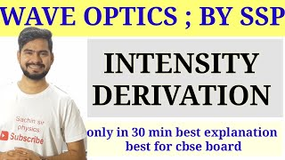 3.Interference | superposition principle | wave optics