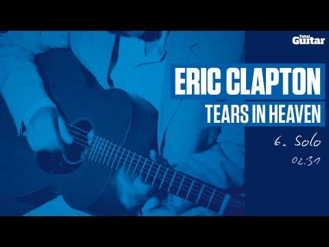 Guitar Lesson: Eric Clapton 'Tears In Heaven' -- Part Six -- Solo (TG213)