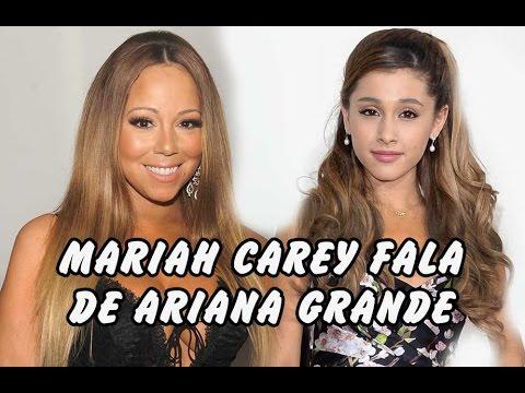 Mariah Carey fala de Ariana Grande Lady Gaga Madonna