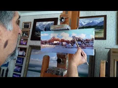 Alexander Babich Russian impressionist 2017