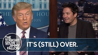 Trump's 2020 Election Lawsuits Get Thrown Out by More States   The Tonight Show