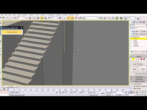 El mejor tutorial 3ds max 63 escaleras stairs doovi for Escaleras 3d max