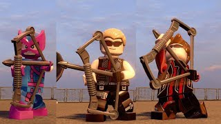 All Hawkeye Characters in LEGO Marvel's Avengers