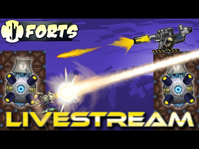 Modded Hype! (Forts Multiplayer Gameplay) - Forts RTS - Livestream