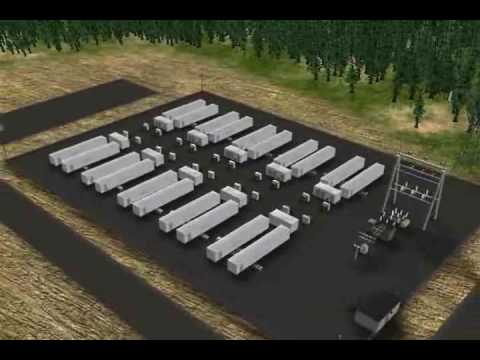 Altairnano 20MW/5MWh Power Management Facility