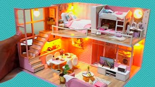 DIY Miniature Dollhouse for LOL Surprise Doll