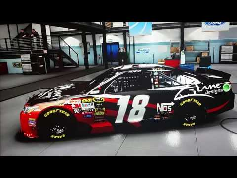 [Full-Download] Nascar-14-kyle-busch-z-line-paint-scheme