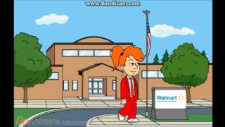 Caillou Turn school to walmart and get grounded