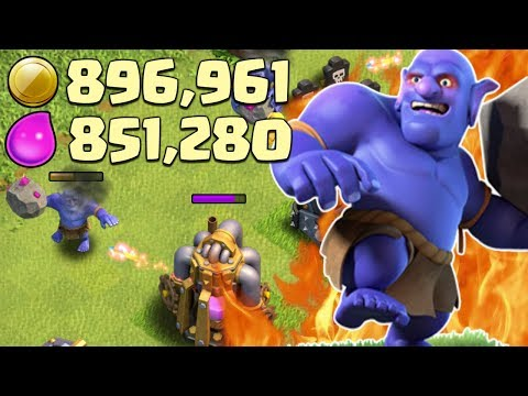 CRAZY LOOT! Best Farming Strategy for TH10 and TH11 in Clash of Clans | CoC Bowler Attack Strategy