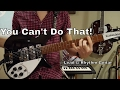 "The Beatles- ""You Can't Do That"" Lead and Rhythm Guitar Cover! On Rickenbacker 325c64 and 360/12c63"