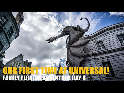 2018 Family Vacation Day 6 - Universal Orlando and Islands of Adventure - The Russell Life