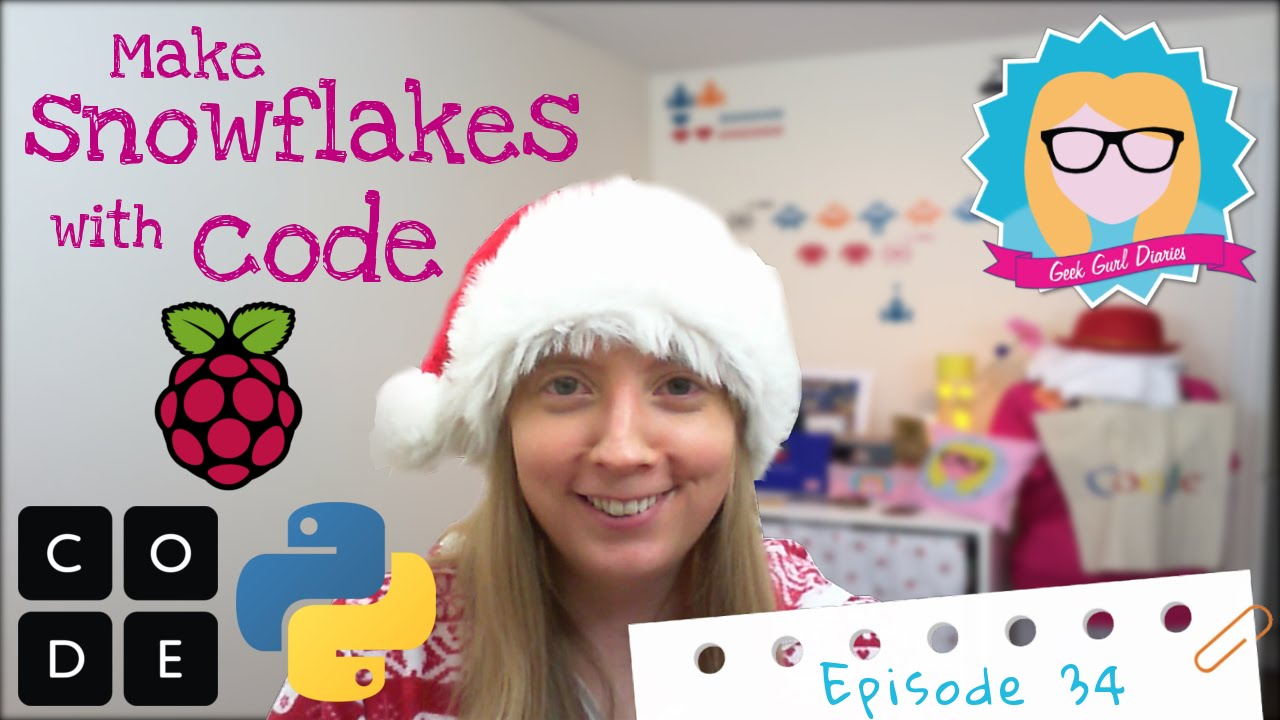 How to make Snowflakes with Code (Xmas & Hour of Code Special)