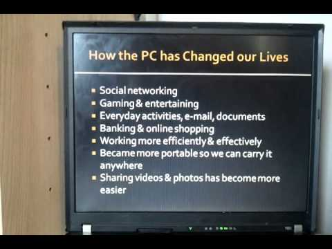 how computers have changed our culture I seemed to have gone to the right expert for an overview on how cell phone technology impacts our world vis-a-vis psychology, community, culture, entertainment, and economics.