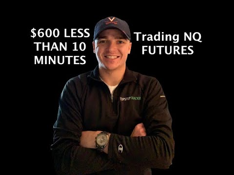 Trading NQ Futures: $600 in Less than 10 Minutes