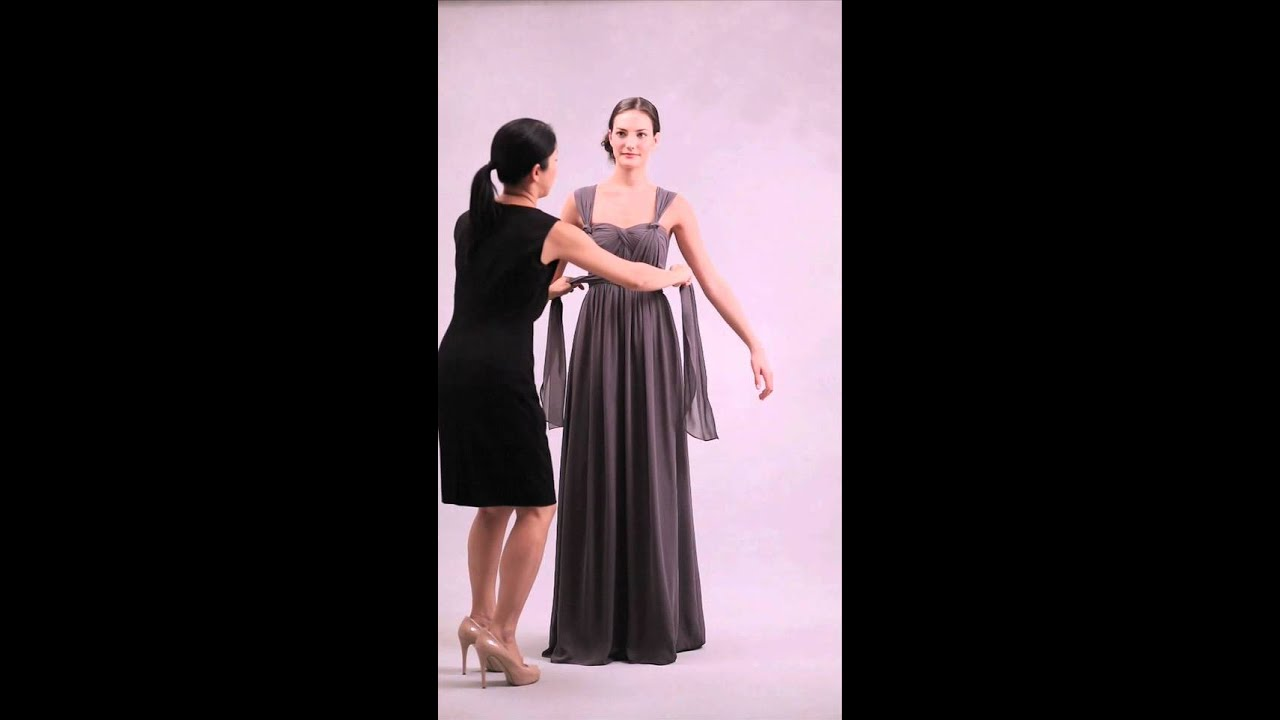 Nabi Dress-Style 13 (Knotted Wide Shoulder Straps) - YouTube