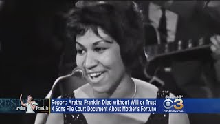 Report: Aretha Franklin Died Without Will Or Trust