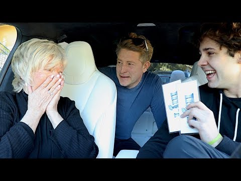 SURPRISING MOM WITH SUPER BOWL TICKETS!!