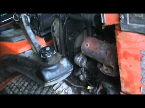 Working out some Problems on Kubota zd331 - YouTube