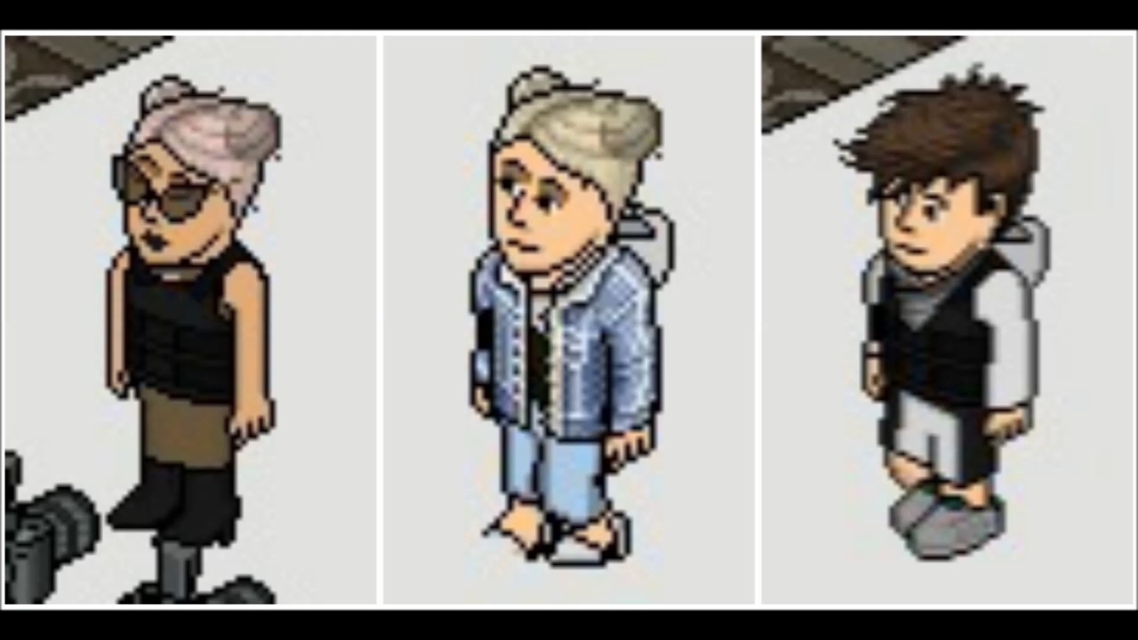 HABBO FASHION BRYAN HADDOZ - YouTube
