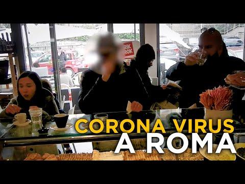 CORONA VIRUS a ROMA (Esperimento Sociale)