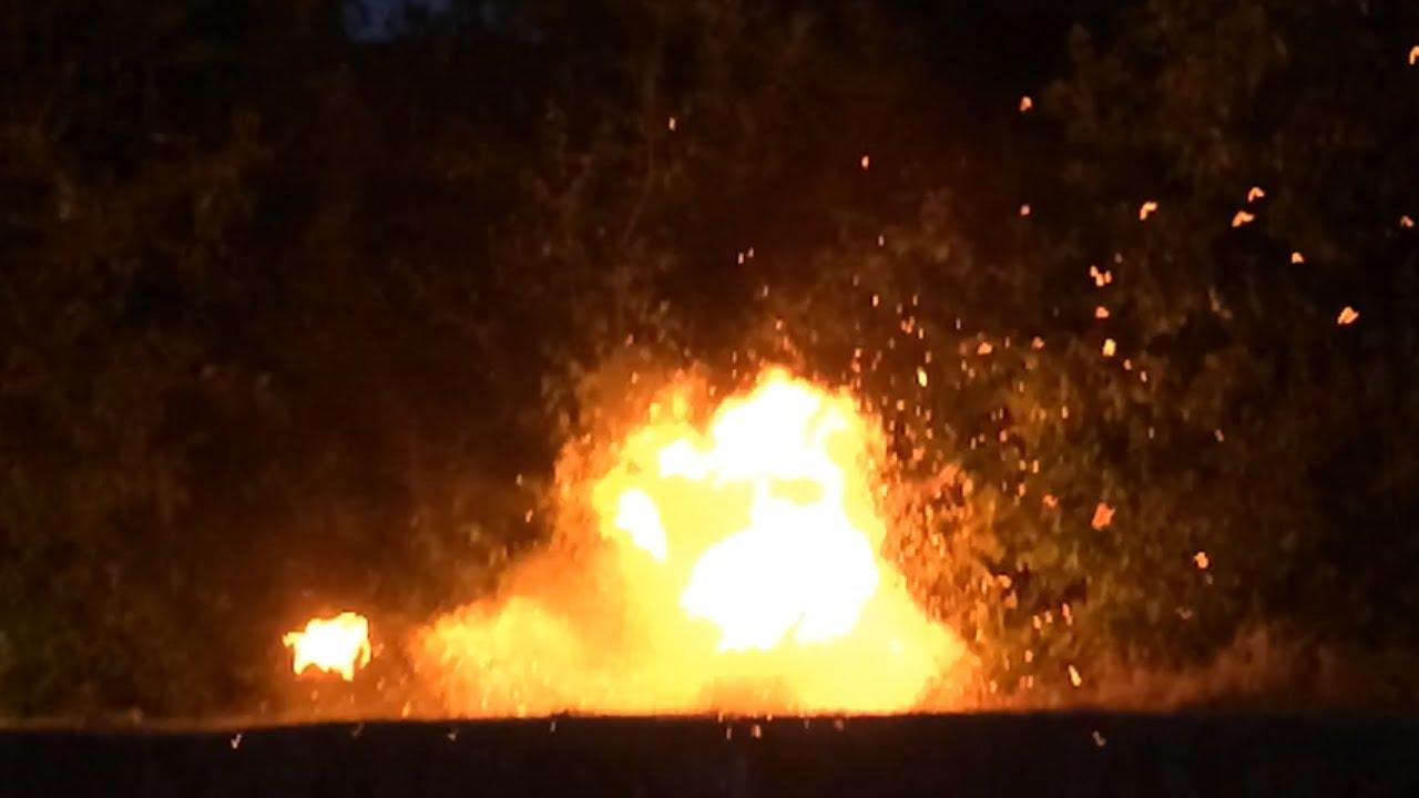 Huge Fire Explosion BSM YouTube