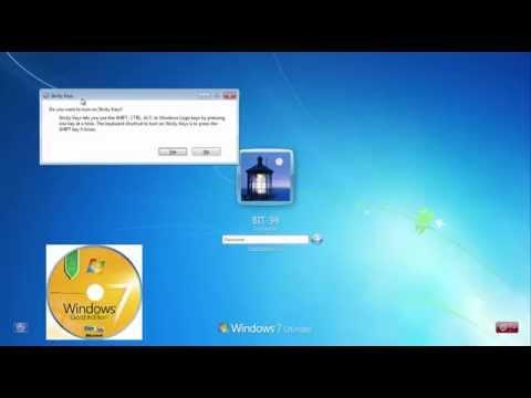 Sida loo jabiyo windows 7 PASSWORD AF SOMALI