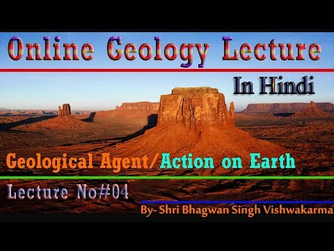 Geological Action on Earth