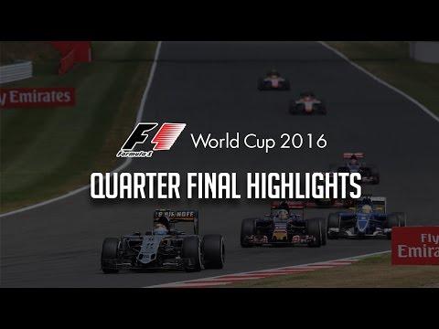 F1 World Cup | Quarter Final Highlights