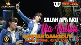 SALAH APA AKU || VIA VALLEN feat OM.SERA || UMKM KENDAL EXPO 2019Apple Devices HD Best Quality