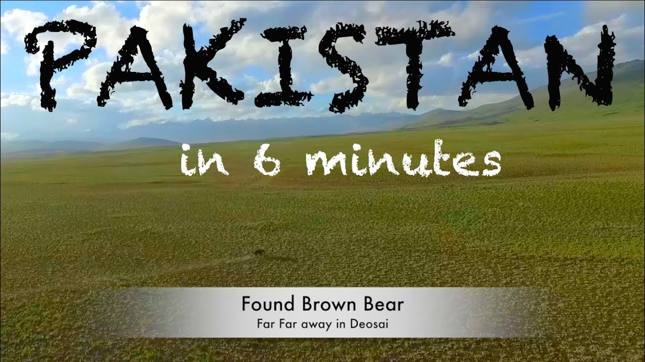 Pakistan Tour in 6 minutes