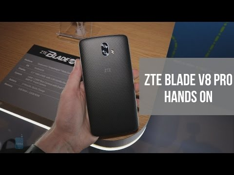 ZTE Blade V8 Pro Hands On
