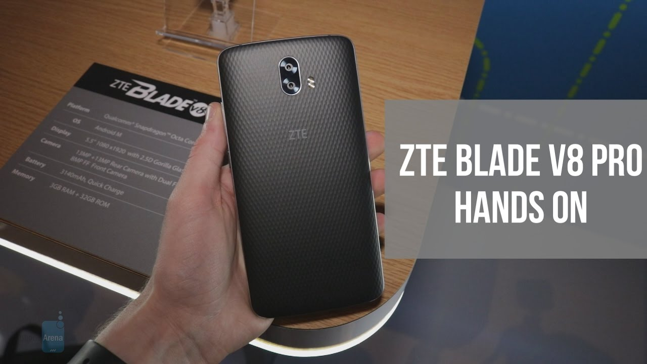 ZTE Blade V8 Pro Hands On