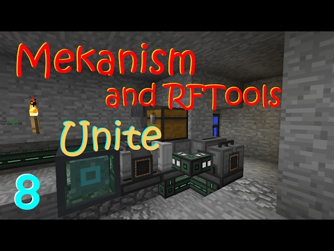 Minecraft 1.10.2 - Mekanism and RFTools Unite Part 8 - Ethylene
