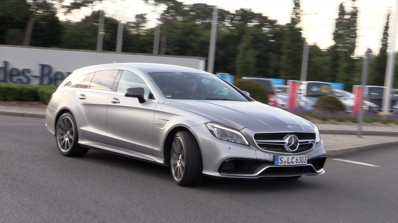 Mercedes Benz Cls 63 Amg S Shooting Brake In Aktion Youtube