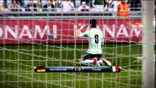 PES 13 (Demo PS3) Traumtor Mesut Özil Ger vs. ita